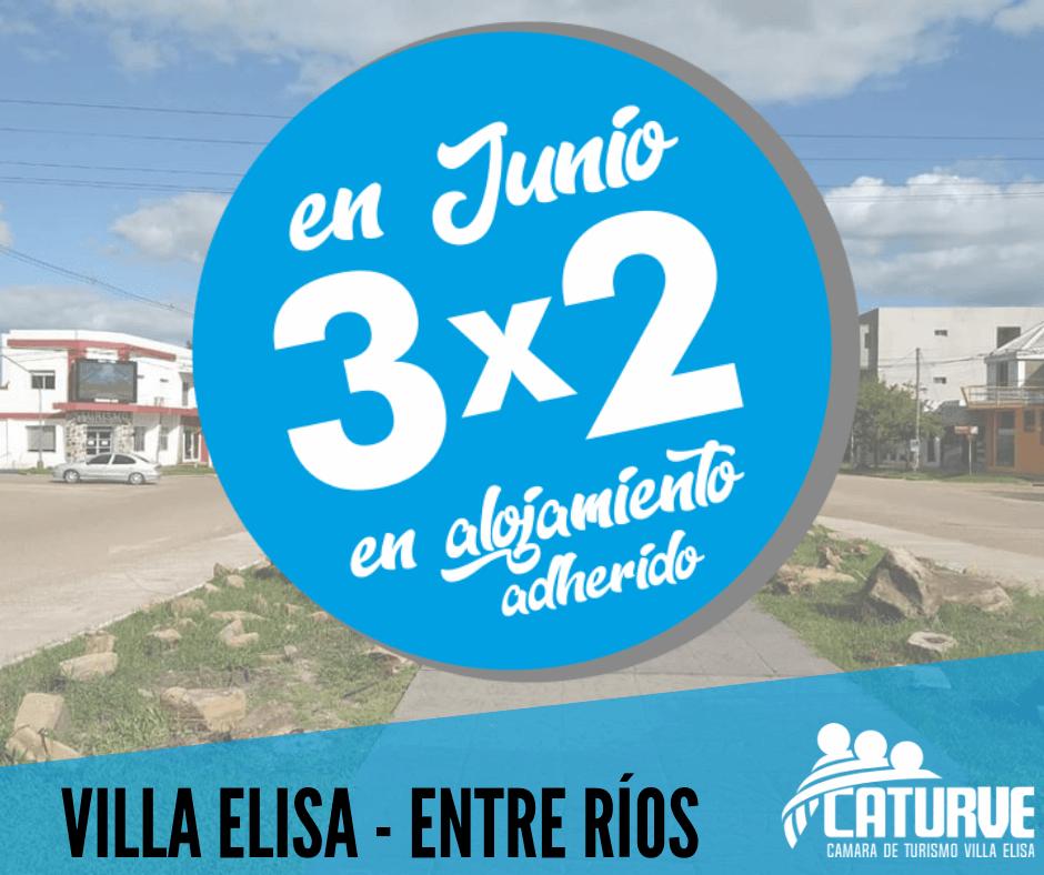3×2 en junio 2019 – Villa Elisa