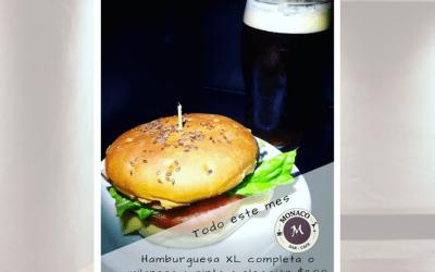 Milanesa o hamburguesa + Pinta en «Mónaco Bar-Cafe»