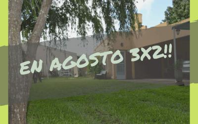 3×2 en Agosto – «Alojamientos Alvear»