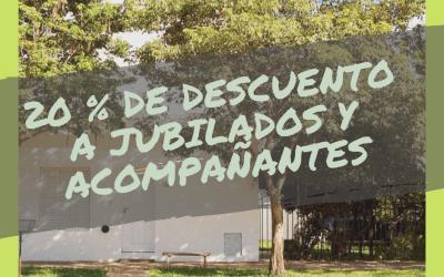 20% de descuento a Jubilados en «Departamento Casablanca»