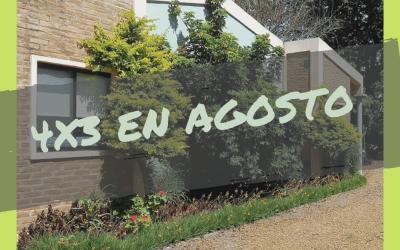 4×3 en agosto «Bungalows El Cantaro»