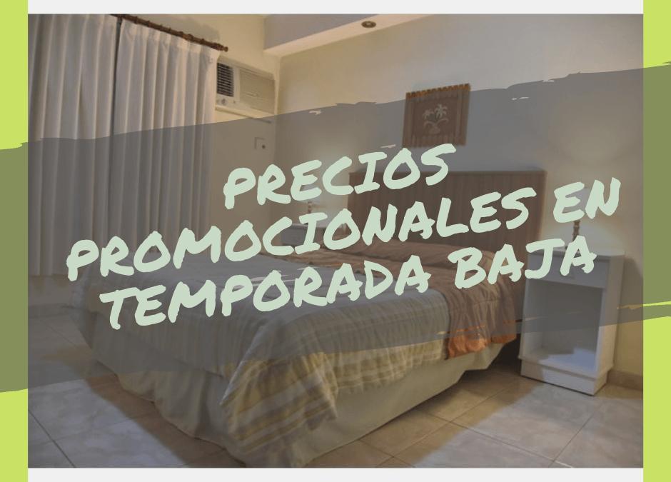 Precios promocionales en Temporada Baja en «Álamos Plateados»