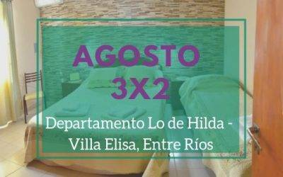3×2 en agosto «Lo de Hilda»