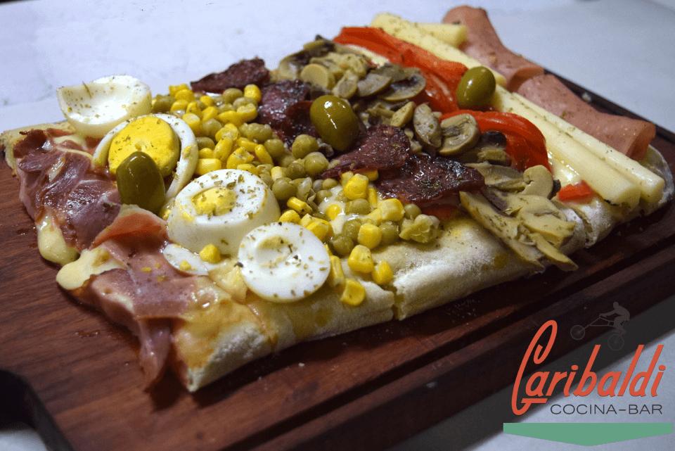 Variedad en pizzas por metro