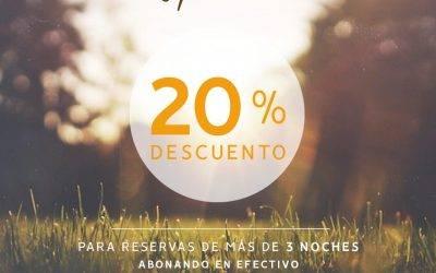 20% de descuento en «Alojamientos Dimar»